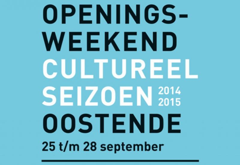 Start cultuurseizoen in Oostende